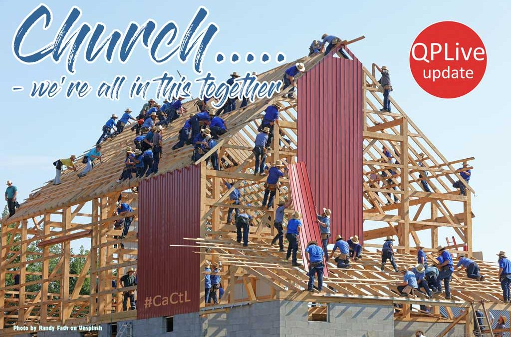Church …we're all in this together Part II