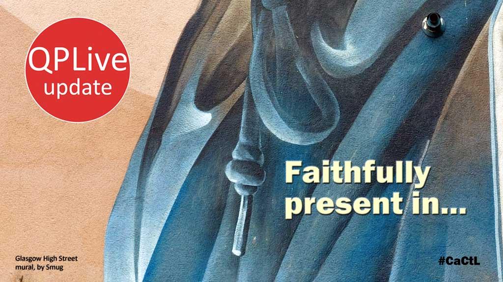 Faithfully present…
